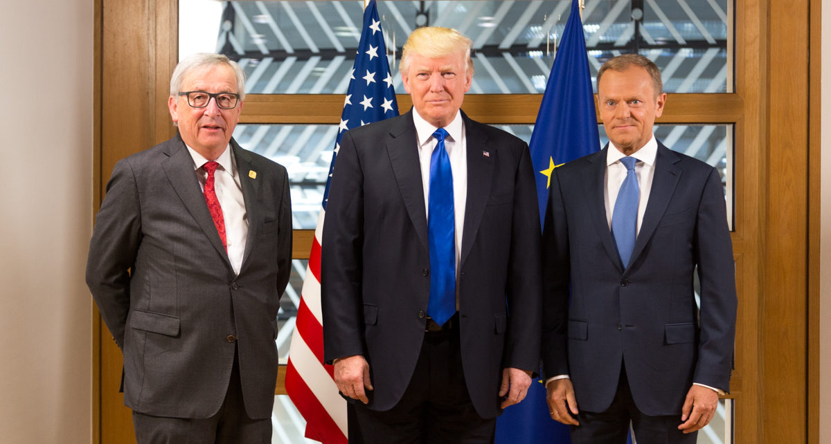 Juncker, Trump and Tusk