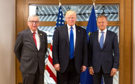 Juncker, Trump and Tusk